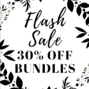 30% off bundles 2 or more!!